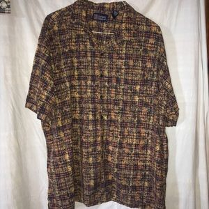 HB Sport Harbor Bay Casual Button Down 3XL